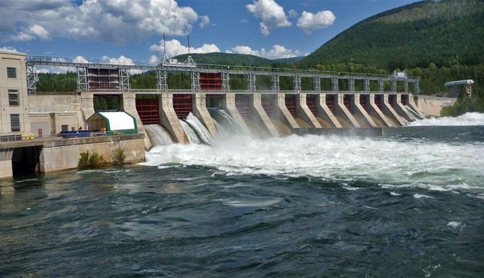 Fortis bc choisit hmi pour la r ahabilitation de l vacuateur de crues de son barrage de corra - Barrage de l odeur ...